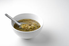 Boil green beans Stock Photography