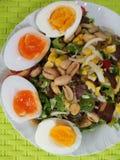 boild αυγό στοκ εικόνες με δικαίωμα ελεύθερης χρήσης