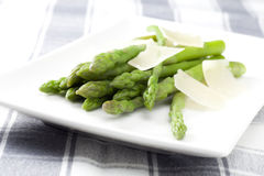 Boiled Asparagus Royalty Free Stock Image