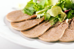 Boiled Beef Tongue Stock Photos