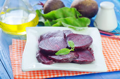 Boiled beet Stock Image