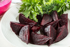 Boiled beetroot Royalty Free Stock Image
