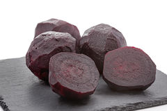 Boiled beetroot Stock Photography