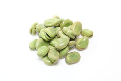 Boiled broad beans Stock Image