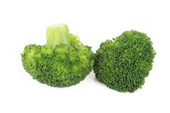 Boiled broccoli vegetable Royalty Free Stock Images