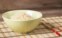 Boiled brown rice Royalty Free Stock Photography