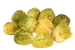 Boiled brussel sprouts Royalty Free Stock Photography