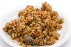Boiled buckwheat Royalty Free Stock Photo
