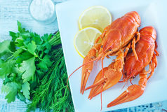 Boiled cancer Stock Images