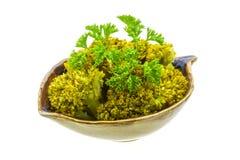 Boiled cauliflower Royalty Free Stock Image
