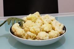 Boiled cauliflower. Royalty Free Stock Image