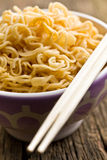 Boiled chinese noodles Stock Images