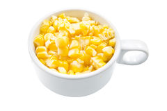 Boiled corn cobs Royalty Free Stock Photography