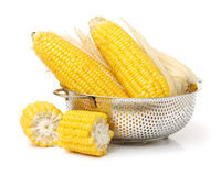 Boiled corn Royalty Free Stock Images