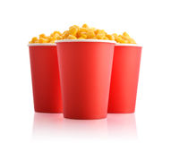 Boiled corn kernels Stock Photos
