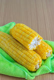 Boiled corns Royalty Free Stock Photos