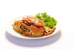 Boiled crabs Royalty Free Stock Photo