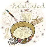 Boiled custard Stock Photos