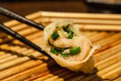 Boiled dumpling Stock Image