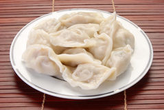 Boiled dumplings Stock Photography