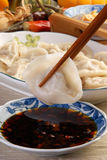 Boiled dumplings Royalty Free Stock Photography