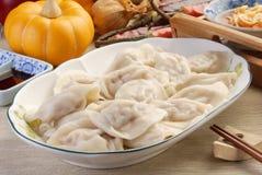 Boiled dumplings Royalty Free Stock Image