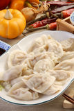 Boiled dumplings Stock Photos