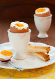 Boiled egg Stock Photos