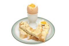 Boiled egg Stock Image