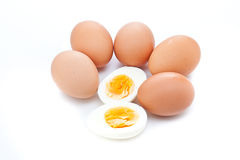 Boiled egg Royalty Free Stock Image