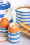 Boiled Egg Breakfast Stock Image