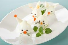 Boiled Egg Bunny Rabbit Stock Photos