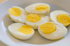 Boiled egg Stock Image