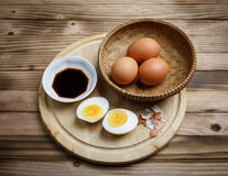 Boiled egg Stock Photo
