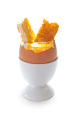 Boiled egg Royalty Free Stock Photo