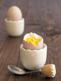 Boiled eggs Royalty Free Stock Photo