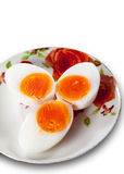 Boiled eggs Stock Photos