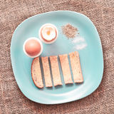 Boiled eggs Royalty Free Stock Photos