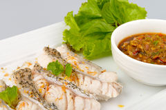 Boiled fish Royalty Free Stock Photos