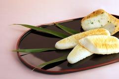 Boiled fish paste. Sasakamaboko, boiled fish paste that shaped  banboo leaf Stock Image