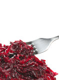 Boiled grated beet Stock Photos
