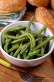 Boiled green beans Royalty Free Stock Photos