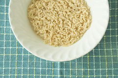 Boiled Instant Noodle Royalty Free Stock Photo