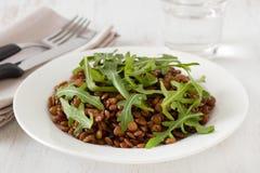 Boiled lentil Royalty Free Stock Image