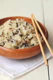 Boiled Mixed Rice Royalty Free Stock Images
