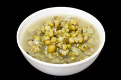 Boiled mung bean with sugar, sweet dessert Stock Photography