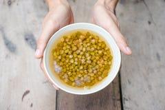 Boiled mung bean Stock Photos