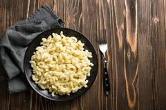 Boiled pasta Royalty Free Stock Image