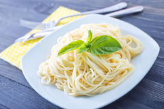 Boiled pasta Royalty Free Stock Images