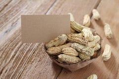 Boiled peanut Royalty Free Stock Image